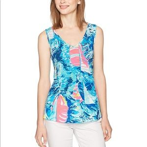 Lilly Pulitzer Gigi Tank Size Medium